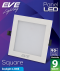 LED Panel Square 9w Daylight