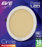 LED Panel Circle 18w Warmwhite
