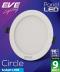 LED Panel Circle 9w Daylight