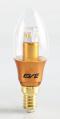 LED Opera E14 หลอดแอลอีดี ทรงโอเปร่า ขนาด 3 วัตต์ แสงเหลืองวอร์มไวท์ ขั้วE14 (แก้วใส)