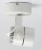 LED Surface Mounted White โคมแอลอีดี ติดลอย หน้ากลม, หน้าเหลี่ยม, หน้าแปดเหลี่ยม สีขาว ขนาด 8 วัตต์ แสงเดย์ไลท์, วอร์มไวท์, คูลไวท์