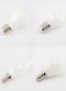 LED Filament Frosted 2w E14/E27 หลอดแอลอีดี ฟิลาเมนต์ แก้วขุ่น ขนาด 2 วัตต์ แสงเหลืองวอร์มไวท์ ขั้วE14 และ E27 แสงออกเต็มไม่เกิดเงาใต้หลอด