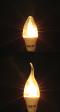 LED Candle Clear E14 หลอดแอลอีดี ทรงเปลวเทียน แก้วใส ขนาด 3 วัตต์ แสงเหลืองวอร์มไวท์ E14