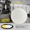 LED Ceiling L05 โคมเพดานแอลอีดี เปลี่ยนสีได้ 3 สี แสงขาวเดย์ไลท์ แสงคลูไวท์ขาวนวล และแสงเหลืองวอร์มไวท์ หรี่แสง เปิด-ปิด ด้วยรีโมท ขนาด 42W