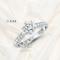 แหวนหมั้น แหวนแต่งงาน เพชรใบเซอร์ Gia 3Excellent