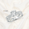แหวนหมั้น แหวนแต่งงาน เพชรชูใบเซอร์ Gia 3Execellent เพชร 1.17 กะรัต H color