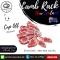 ซี่โครงแกะนิวซีแลนด์ชนิดตัดแต่ง ตัดสเต็ก (New Zealand Lamb) 480-510 กรัม ต่อชิ้น (FRENCHED RACK 8 RIBS, CAP OFF, STEAK CUT 480-510G LAMB)