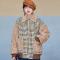 เช่าเสื้อโค้ทผู้หญิง รุ่น   Brown Sugar Plaid Jacket Coats 0911GJS602FABR2XL1