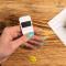 Trezor One digital wallet white