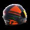 หมวก Tornado Tiburon ดำ-ส้ม (ด้าน)
