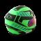 Hornet Virago ดำ เขียว (ด้าน)