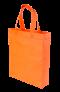 ถุงผ้าสปันบอนด์ 10x12 นิ้ว สีส้ม