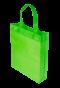 ถุงผ้าสปันบอนด์ 10x12 นิ้ว สีเขียว