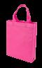 ถุงผ้าสปันบอนด์ 10x12 นิ้ว สีชมพู