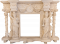Crema Agatino Fireplace