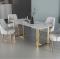โต๊ะอาหาร Luxury เหล็ก