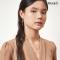 Rice Bouquet Double Chain Earrings
