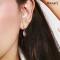 Lanna Lantern RoseGold Earrings