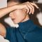 Lanna Rhombus Lantern RoseGold Earring