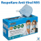 RespoKare Anti-Virtal Mask N95 Size M 1 Box (30 pieces)