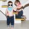 Mustachifier Blue Sunglasses แว่นกันแดดเด็กสีฟ้า
