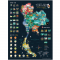 Scratch Map - Thailand
