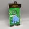 Plastic Keyring - Thai Elephant Blue