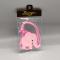 Luggage Tag PVC - Thai Elephant