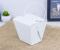 กล่องอาหารสีขาว/มีหูหิ้ว size M PACKING 25 PCS