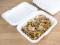 กล่องอาหารเยื่อไผ่ธรรมชาติ 1 ช่อง 2.7x17.5x5.4 cm. 50 PCS