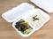 กล่องอาหารเยื่อไผ่ธรรมชาติ 2 ช่อง 16x24.3x5.5 cm. 50 PCS