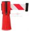 เทปกั้นกรวยจราจร White- Red SAFTY TAPE ยาว 3.0 Meter กว้าง 50 mm.