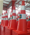กรวยจราจร Traffic cone (Can print the pattern)