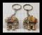 Elephant shaped keychain  พวงกุณแจช้าง