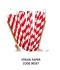 Straw paper หลอดดูดน้ำกระดาษรักษ์โลก