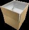 กล่องกระดาษลูกฟูกรักษาความเย็น/ร้อน ( 39.50 บาท / ใบ )