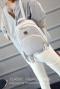 미니 백팩 여행 가방 캐주얼 패션 백팩 하얀색 가방