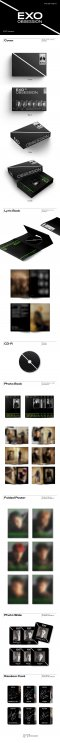 (EXO ver.) EXO - OBSESSION (6th Album) No Poster