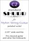 Shubb Standard Capo for Nylon String Guitar - C2