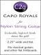 Shubb Capo Royale for Nylon String Guitar - C2G