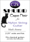 Shubb Capo Noir for Nylon String Guitar - C2K