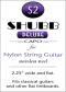 Shubb Deluxe Capo for Nylon String Guitar - S2