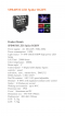 SPB 405 M LED SPIDER RGBW