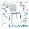 เก้าอี้สำนักงาน BLS-London