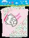 ผ้าห่อตัวเด็ก ผ้าอินเตอรฺ์ล็อค ( คอตตอน )