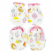 M.MA.ME. 100% Cotton Mittens & Booties Set
