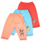เกางเกงผ้าฝ้ายเด็กขายาว 3 ชิ้น