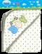 Hooded interlock blanket