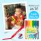 Amos Colorix Glass Fun สีเทียน เขียนกระจกลบได้ (รุ่น 6 สี)