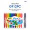 Amos Colorix Glass Fun 12 สี (สีเทียนเขียนกระจกลบออกได้)